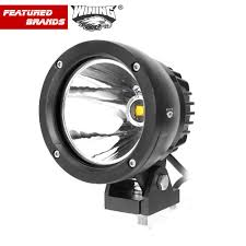 round led driving lights 4 inch 25w led car work light spotlight cob chip offroad round led