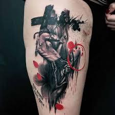 muai thai tattoo trash polka best tattoo ideas gallery