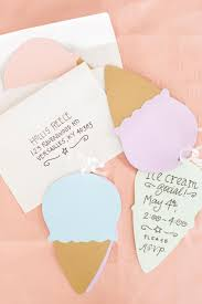 How To Design An Invitation Card Best 25 Ice Cream Invitation Ideas On Pinterest Ice Cream