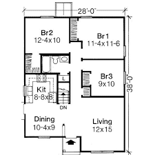 three bedroom house simple plans home act