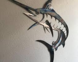 marlin wall art etsy
