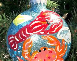 ocean ornament etsy