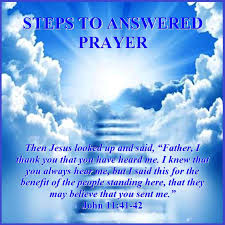 steps to answered prayer 11 41 42 mission venture ministries