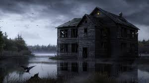 haunted house wallpaper 1920x1080