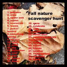 Backyard Scavenger Hunt Ideas Fall Nature Photo Scavenger Hunt Goexplorenature Com