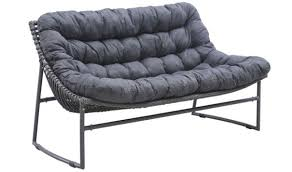 Ingonish Modern Outdoor Set In Gray By Zuo GetFurniture - Modern outdoor sofa