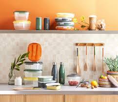 boites cuisine cuisine colorée boite micro ondable ustensile de cuisine en bois