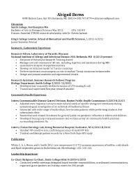 Resume Abroad Sample by Clinical Serology Lab Resume Sample Http Resumesdesign Com