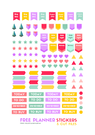 To Do Stickers Free Printable Stickers For Your Planner Heart Handmade Uk