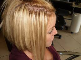 thin hair after extensions after with hair locs filling in the space where her hair is short