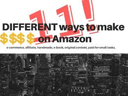 small graphic design business from home 11 different ways to make money with amazon work from home youtube