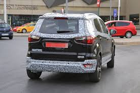 2017 ford ecosport spotted testing in st line form ahead of