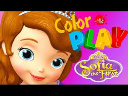 sofia color play sofia u0027s bedroom coloring book