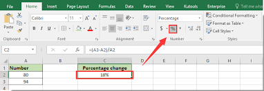 percentage calculator excel how to calculate percentage change or difference between two
