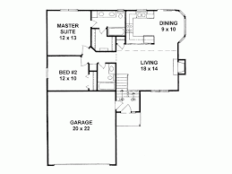 eplans traditional house plan narrow lot two bedroom home 968