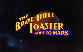 Space Toaster Font The Brave Little Toaster Goes To Mars 1998 Dvd Movie Menus