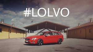 used volvo 18 wheelers for sale a hilariously bizarre commercial for the volvo v60 by christoffer