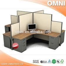 bureau poste de travail poste de travail de bureau pour 6 personne vente chaude promotion