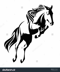 mustang horse silhouette mustang cobra clipart clip art sales plan template free download