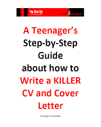 Sample Resume Teenager by Cv Writing For Teenagers