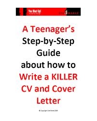 cv writing for teens e book u2013 eva maria