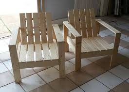 Plans For Outside Furniture by Best 25 Homemade Outdoor Furniture Ideas On Pinterest Outdoor
