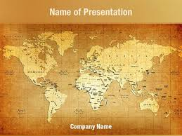 old map powerpoint template ancient map powerpoint templates