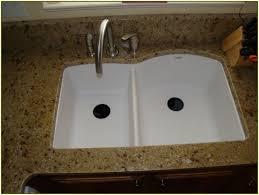 Kitchen Sink Composite Granite Victoriaentrelassombrascom - White composite kitchen sinks