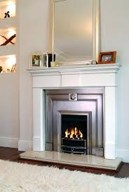 buy grace electric fireplace heater white with 38 mantle electric