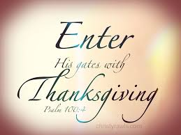 talks with jesus enter his gates with thanksgiving