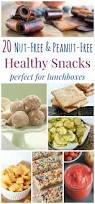 20 nut free and peanut free healthy snacks perfect for lunchboxes