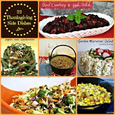 thanksgiving thanksgiving side dishes for list best