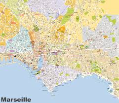 Biarritz France Map by Marseille Maps France Maps Of Marseille