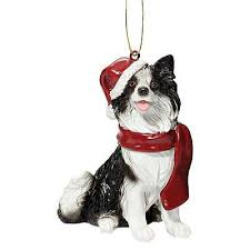 collie ornaments talking dogs at for of a