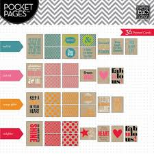 pocket pages me and my big ideas pocket pages specialty cards this is my