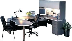 Office Desk U Shape U Shaped Office Desk Executive U Shaped Desk W 2 Pedestals