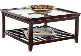 Espresso Side Table Living Room Table Sets 2 Piece 3 Piece Glass Etc