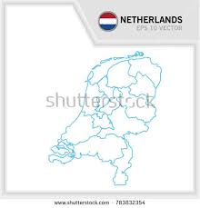 netherlands map flag netherlands map and flags free vector stock