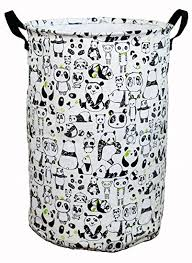 Prints For Kids Rooms by Amazon Com Laundry Hamper Basket For Kids With Panda Prints For