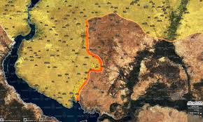 Tabqa Dam Raqqa Syria Google Maps by Day Of News On The Map December 22 2016 Today News From War