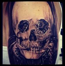 libra tattoos pictures evil clown skulls tattoos pictures