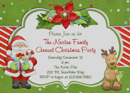christmas invitations of party invitation template christmas marialonghi