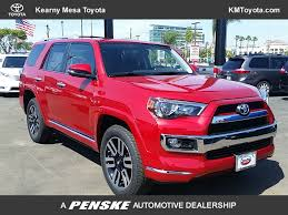 2017 new toyota 4runner limited 4wd at kearny mesa toyota serving