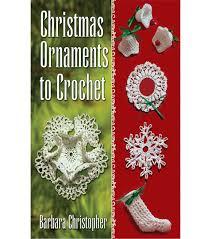 christmas ornaments to crochet joann
