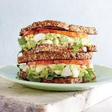 Dinner Egg Recipes Avocado Egg Salad Sandwiches With Pickled Celery Recipe Myrecipes