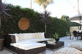 VineCovered Walls Let You Enjoy The Outdoors For The Best Part Of - Patio wall design