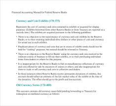 accounting manual template accounting policies and procedures