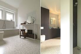 modern bathroom flooring sleek beauty of modern terrazzo floors