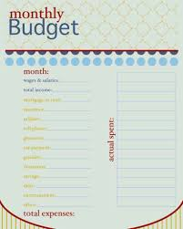 Simple Budget Spreadsheet Excel by Monthly Budget Spreadsheet Template Haisume