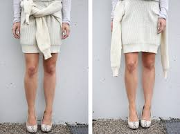 sweater skirt aesthetics sweater skirt clothing diy